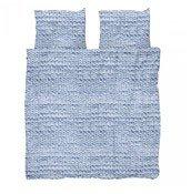 Pościel Twirre 200 x 200 cm niebieska - małe zdjęcie
