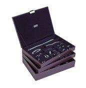 Pudełko na biżuterię potrójne supersize Stackers fioletowe - małe zdjęcie