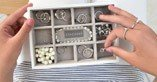 Pudełko na biżuterię 11 komorowe Mini Stackers - zdjęcie 4