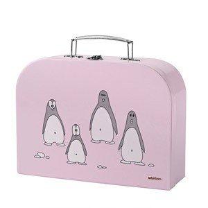 Sztućce dziecięce w walizeczce Penguin