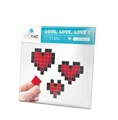 Dekoracja �cienna Stickaz Love, Love, Love!