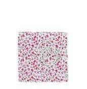 Osłonki płócienne na zakrętkę słoika 6 szt. różowe - małe zdjęcie