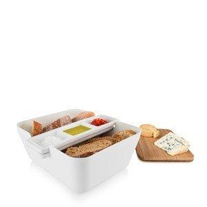 Pojemnik na pieczywo w zestawie do przekąsek Bread & Dip