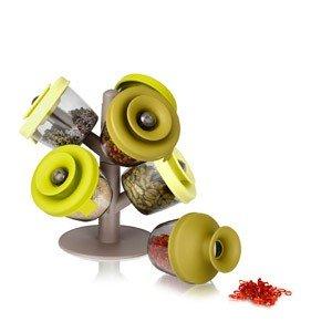 Pojemniki na przyprawy PopSome Herbs & Spices 6 szt.