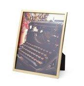 Ramka na zdjęcia Senza na zdjęcie 20 x 25 cm matowy mosiądz - małe zdjęcie