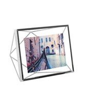 Ramka na zdjęcia Prisma na zdjęcia 10 x 15 cm chromowana - małe zdjęcie