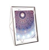 Ramka na zdjęcia Prisma na zdjęcia 20 x 25 cm chromowana - małe zdjęcie
