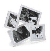 Ramki na zdjęcia Mosh 4 zdjęcia białe - małe zdjęcie