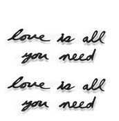 Dekoracja �cienna Mantra Love