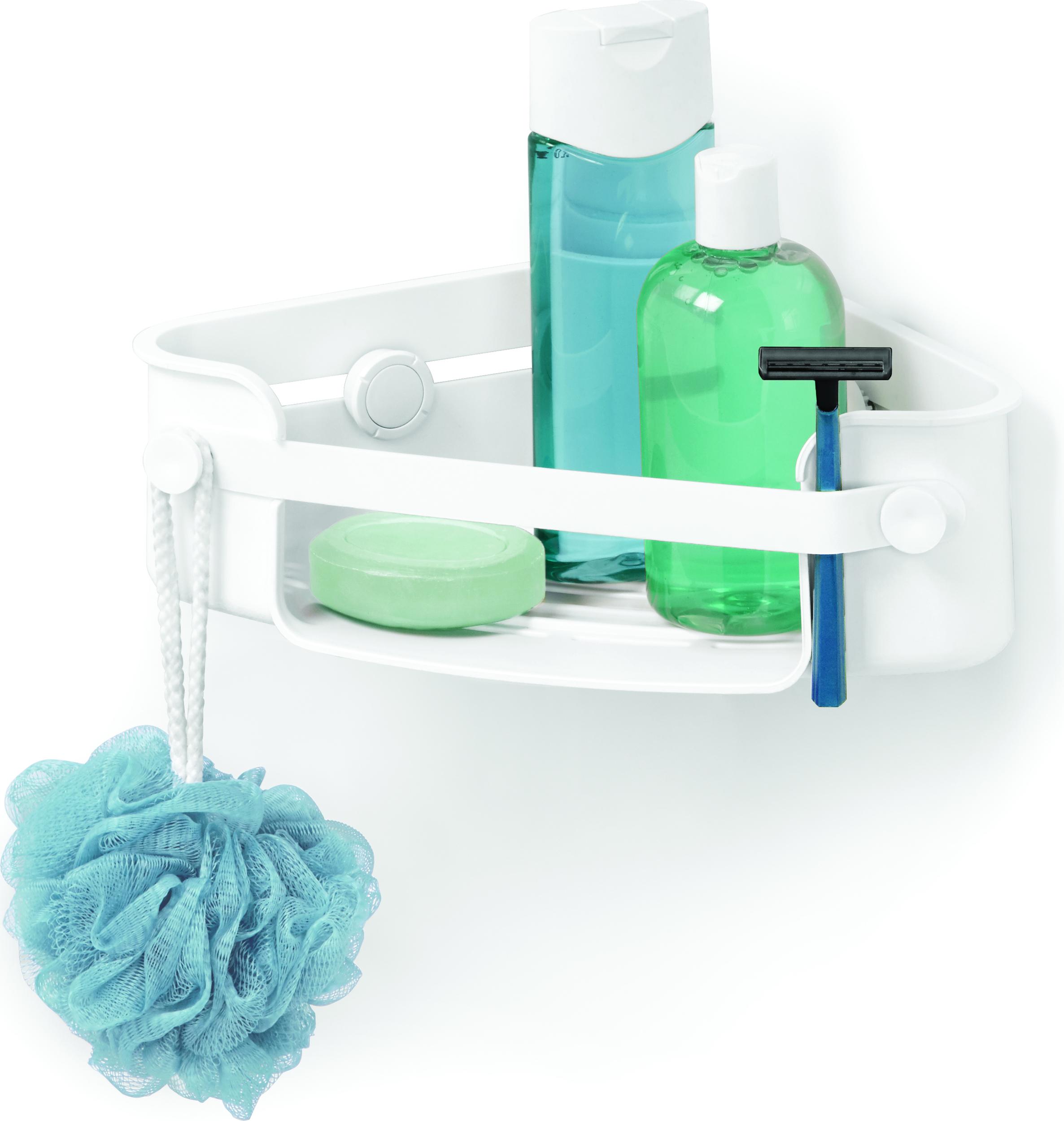 Półka Prysznicowa Narożna Flex Gel Lock