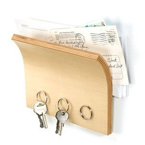 Wieszak na klucze i półka na listy Magnetter