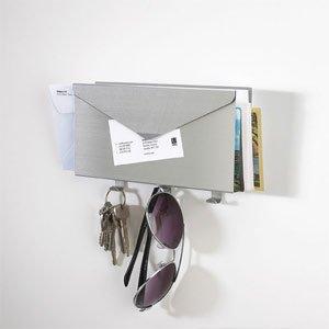 Wieszak na klucze i półka na listy Lettro