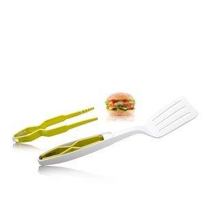 Łopatka do odwracania ze szczypcami Tomorrows Kitchen