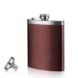 Piersiówka z lejkiem Vacu Vin