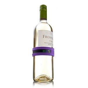 Termometr na butelkę wina Snap