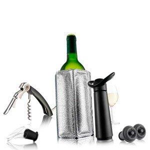 Zestaw do wina z okryciem chłodzącym Vacu Vin