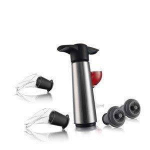 Pompka próżniowa do wina z korkami i nalewakami Wine Saver