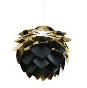Lampa Silvia Mini czerń i złoto - małe zdjęcie