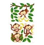 Dekoracja ścienna Małe Małpki - zdjęcie 1