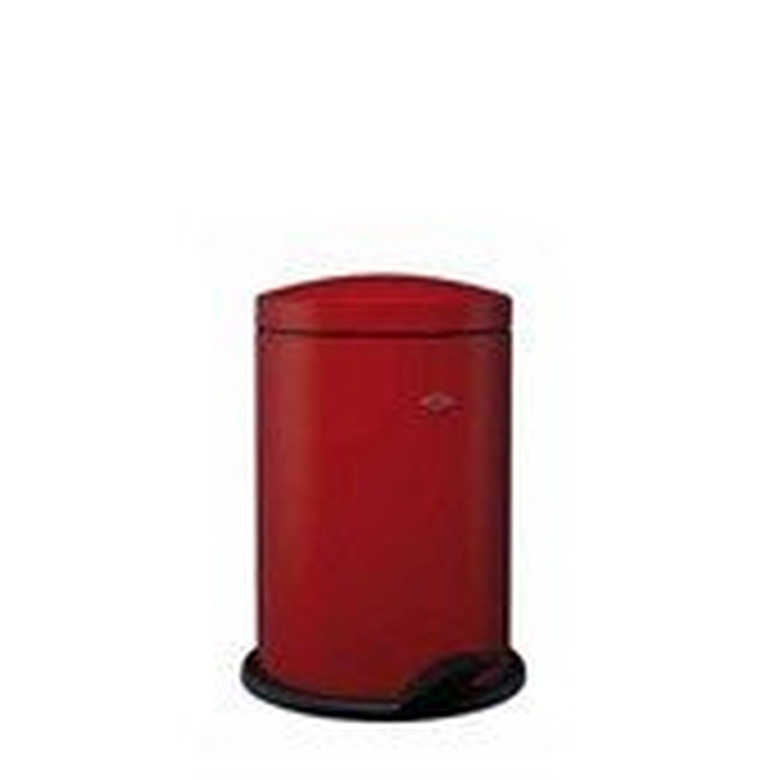 Kosz na śmieci Base 13l czerwony - małe zdjęcie