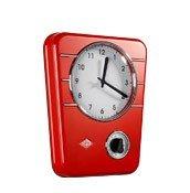 Zegar z minutnikiem Classic czerwony - małe zdjęcie