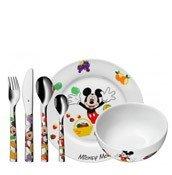 Sztućce i naczynia dziecięce Mickey Mouse 6 szt.