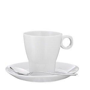 Filiżanka do kawy z mlekiem z łyżeczką Barista