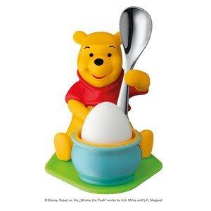 Kieliszek do jajek z łyżeczką Winnie the Pooh
