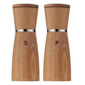 Młynek do soli i pieprzu drewniany Ceramill Nature 2 szt.