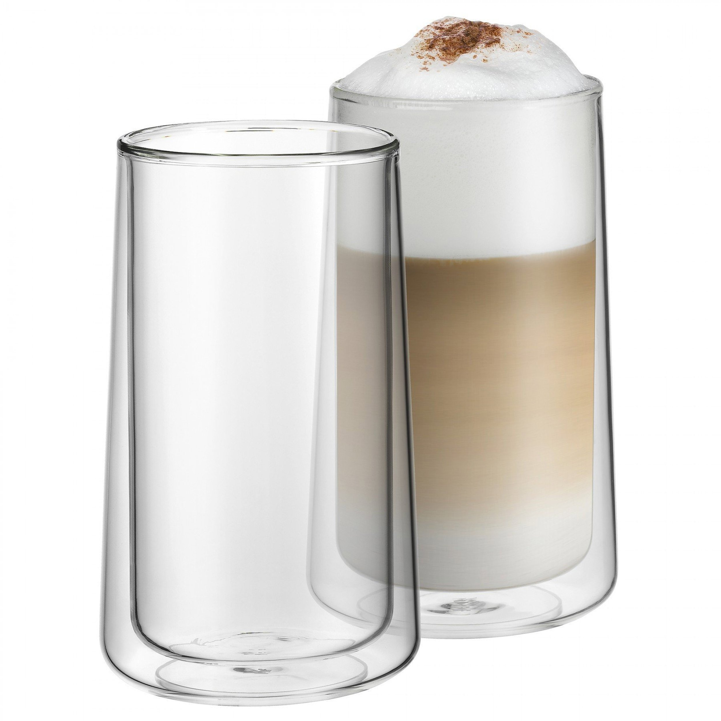 szklanka o podw jnych ciankach do latte macchiato coffee. Black Bedroom Furniture Sets. Home Design Ideas