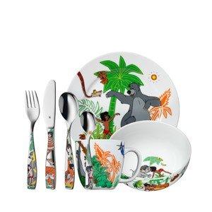 Sztućce i naczynia dziecięce Księga Dżungli
