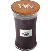 Świeca Core WoodWick Black Plum Cognac