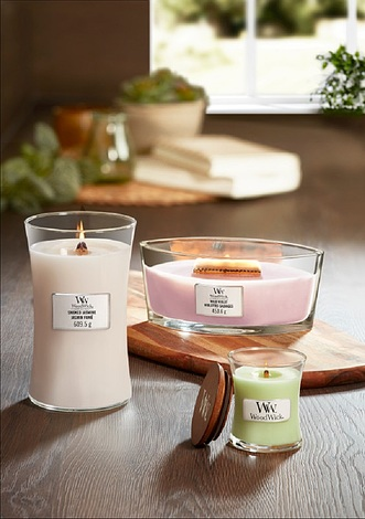 Świeca Core WoodWick Fig Leaf & Tuberose