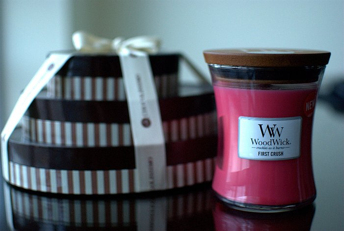 Świeca Core WoodWick Sea Salt Caramel