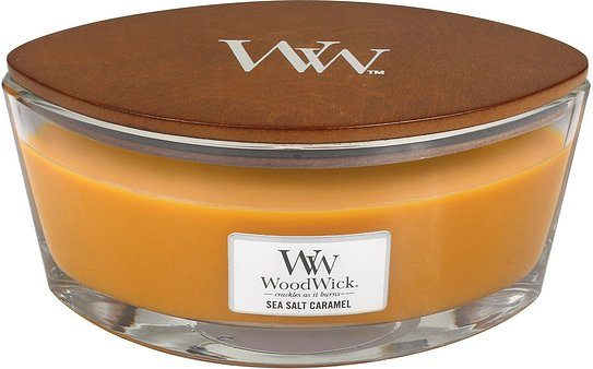 Świeca Hearthwick Flame WoodWick Sea Salt Caramel