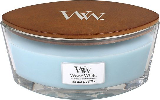 Świeca Hearthwick Flame WoodWick Sea Salt & Cotton