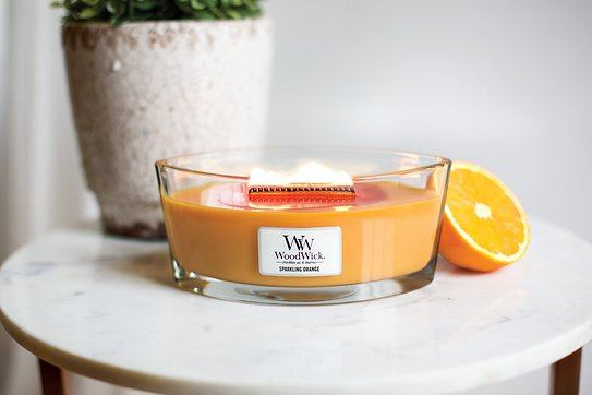 Świeca Hearthwick Flame WoodWick Sparkling Orange