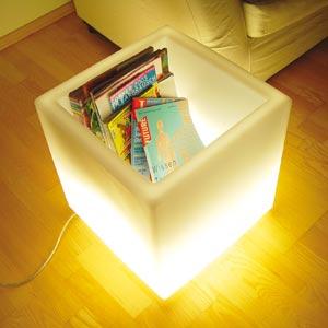 Pojemnik podświetlany Lux-us