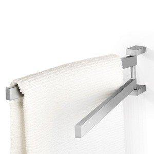 Wieszak na ręczniki Linea podwójny matowy