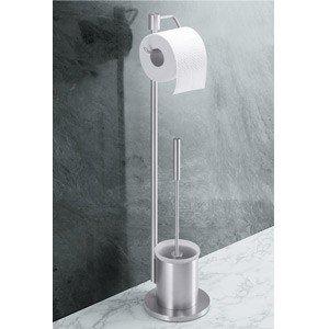 Szczotka do WC z uchwytem na papier toaletowy Marino