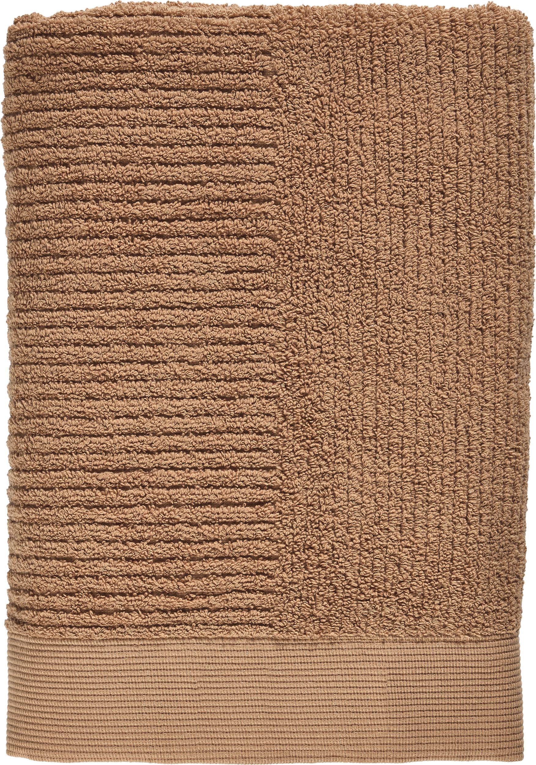Ręcznik Classic 70 x 140 cm niebieski - Zone Denmark