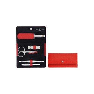 Akcesoria do manicure Twinox Asian Competence 6 el. Dauphine czerwone
