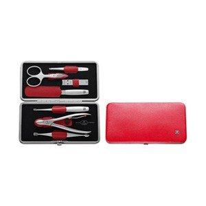 Akcesoria do manicure Twinox Asian Competence 8 el. Dauphine czerwone