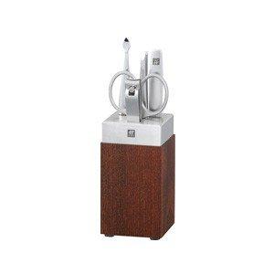 Akcesoria do manicure Twinox Spa komplet 6 el. drewno i stal