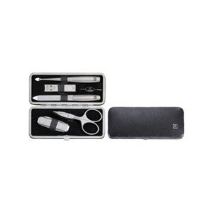 Akcesoria manicure Twinox Asian Competence 6 el. Dauphine z pilnikiem