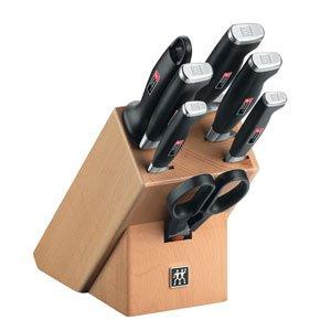 Blok z nożami 10 części Four Star II